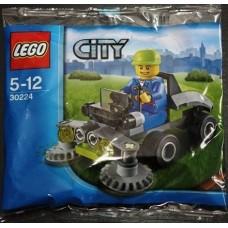LEGO City 30224 Masina de tuns iarba (punga)