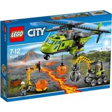 LEGO City - Elicopter de aprovizionare la vulcan (60123)