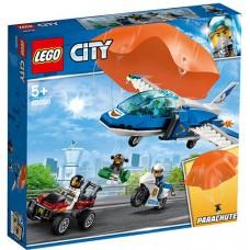 LEGO City - Arest cu parasutisti al politiei aeriene (60208)