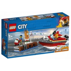 LEGO City - Incendiul de la docuri (60213)