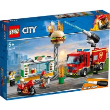 LEGO City - Stingerea incendiului de la Burger Bar (60214)