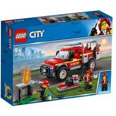 LEGO City - Camionul de interventie al comandantului pompierilor (60231)