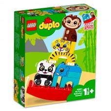 LEGO Duplo - Primul meu balansoar cu animale (10884)