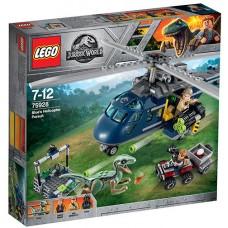 LEGO Jurassic World Urmarirea Elicopterului Albastru (75928)