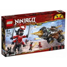 LEGO Ninjago - Foreza de pământ a lui Cole (70669)