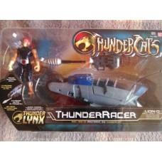 Set ThunderCats -Figurina Lion-O cu automobil si arma